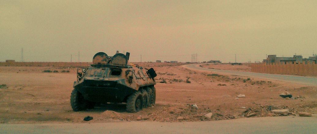 Benghazi, Beyond the frontline